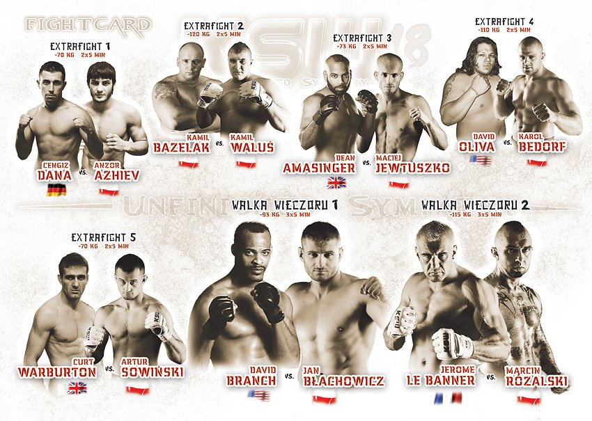 Fight Card via KSW/konfrontacja.com